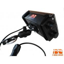 Porta Roadbook Manual + Soporte tipo bola + Iluminación led